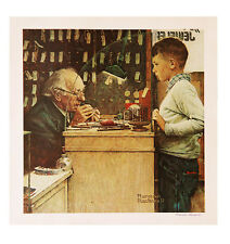 """Norman Rockwell's """"The Watchmaker"""" Poster"""