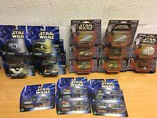 Star Wars Micro Machines Diecast Metal barcos Podracers Nuevo