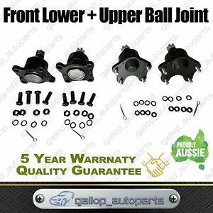 4 Ball Joints Fit For Toyota Hilux IFS KZN165R LN167R 4Runner 4 Bolt Mount SR5