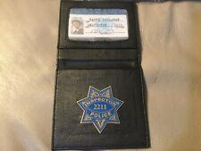Dirty Harry Police ID Badge Wallet Harry Callahan Inspector 2211 Brand New