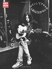 Neil Young Greatest Hits Easy Guitar With Tab Book (Easy Guitar with Notes & Tab