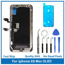 iPhone XS Max Replacement 3D Touch Screen OLED Digitizer Display Assembly + Tool