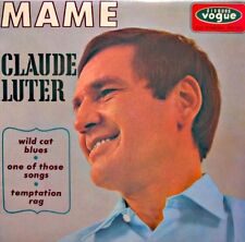 ++CLAUDE LUTER mame/wild cat blues/one of those songs EP 1966 VOGUE EX++