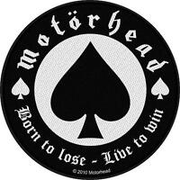 MOTÖRHEAD AUFNÄHER / PATCH # 30 BORN TO LOSE LIVE TO WIN