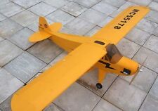 71in (.40-.55) Balsa J3 J-3 Piper Cub Nitro/Electric RC Plane Airplane ARF Kit