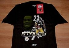 41545f2a2c5 DUCE STALEY PITTSBURGH STEELERS T-SHIRT LARGE JERSEY STYLE REEBOK NFL BLACK