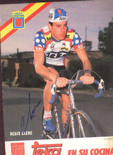 REGIS CLERE cyclisme ciclismo Signée TEKA ALAN vélo dédicace ciclista wielrennen