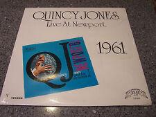 "Quincy Jones ""Live At Newport 1961"" SEALED NM TRIP JAZZ LP"