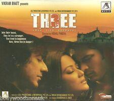 THREE LOVE LIES BETRAYAL - NEW ORIGINAL BOLLYWOOD SOUNDTRACK CD - FREE UK POST