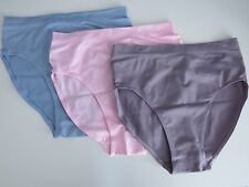 New Geniebriefs, womens slimming pants, briefs, underwear 3 pack Size SMALL