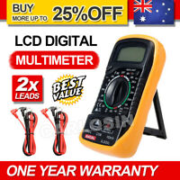 Digital Multimeter Electrical LCD Meter AC/DC Volt Current OHM Multi Tester New