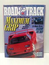 Road & Track Magazine July, 1999: Diablo VT, Carrera 4, Skyline GT-R, Z3, XK180