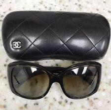 Chanel Sunglasses Women, Black, Oversized, Authentic