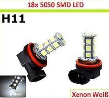 H11  auto 18 LED SMD -BULBS nebel 12V Nebelscheinwerfer XENON-WEISS BULBS nebel
