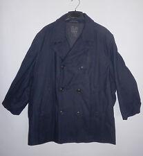 Old Navy Womens Black Wool Blend Coat Peacoat Jacket Size XXL