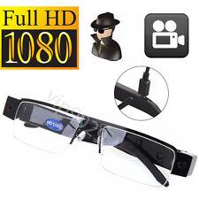 HD 1080P Spy Hidden Half Frame Glasses Cam DVR Video Recorder Eyewear Camera New