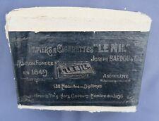Boite 39 paquet papier cigarette LE NIL n°3 rolling paper zigarettenpapier