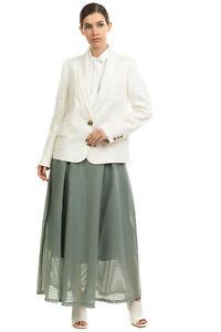 RRP €1610 BRUNELLO CUCINELLI Blazer Jacket Size 44 / L Linen Blend Made in Italy