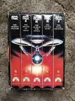 Star Trek-The Movies 25th Anniversary Collector's Set 5 VHS First Contact VHS
