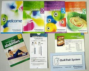 Weight Watchers FLEX Points Finder Starter Kit Plan Books, QuikTrak, Calculator