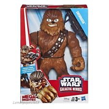Star Wars Galactic Heroes Mega Mighties Chewbacca 25cm Action Figure Official