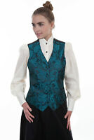 Scully Women's Paisley Vest RW606