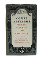 Comic Epitaphs From the Very Best Old Graveyards Peter Pauper 1957 Halloween