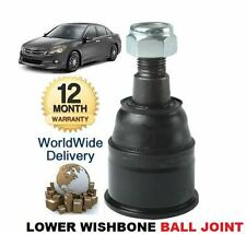 FOR HONDA ACCORD 2008-> NEW LEFT OR RIGHT LOWER SUSPENSION WISHBONE BALL JOINT