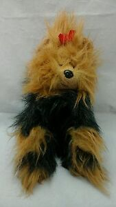 "Ty Classic Yappy Yorkshire Terrier Puppy Dog 1997 Plush 12"" Toy Lovey"
