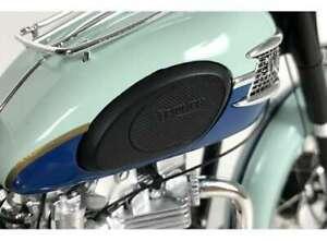 Triumph 1959 Bonneville T120 Blue Tank by Vintage Motor Brands in the 1.6 scale