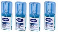 4 x Fresh Mint Breath Freshner Mouth Spray Bad Breath Long Lasting 20ml - 40110