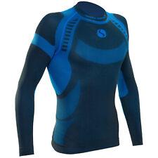Sesto Senso Thermo Camisa para hombres activos suave piel de peso ligero ajuste ...