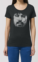 Dave Grohl Ladies ORGANIC Cotton T-Shirt Music FOO FIGHTERS Womens New Top Gift
