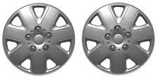 "Pair Of Silver 13"" Caravan Wheel Trims Hub Caps for ABI Award Dawnstar 1998"