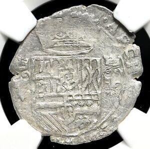 SPANISH NETHERLANDS. Philip IV, 1621-1665, Silver 3 Stuivers, NGC AU53