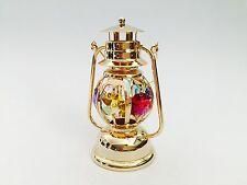 "SWAROVSKI CRYSTAL ELEMENTS ""Lantern"" FIGURINE - ORNAMENT 24KT GOLD PLATED"
