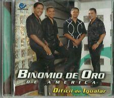 Binomio De Oro De America Dificil De Igualar Latin Music CD New