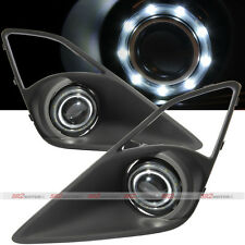 SMDx9 White LED DRL Halo Angel Eyes Projector Fog Lights Lamps Kit Fits FRS BRZ