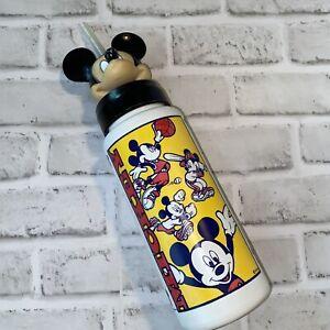 Vtg Mickey Mouse Head Walt Disney Sport Cup Bottle Straw Sipper Monogram Product