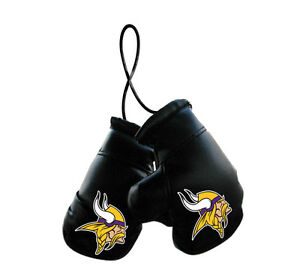 Minnesota Vikings NFL Mini Boxing Gloves Rearview Mirror Auto Car Truck