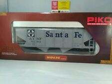 PIKO 38835 Santa Fe Covered Hopper Car  Schuttgutwagen Santa Fe G Gauge