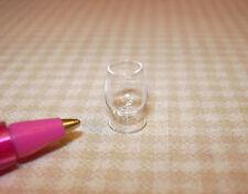 Miniature Glass Brandy Snifter for DOLLHOUSE Bar, 1/12 Scale Miniatures