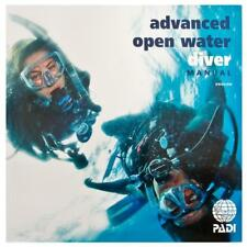 PADI Advance Open Water AOW Book Manual with Data Carrier #70139 ADVENTURES IN D