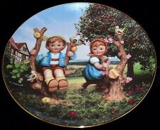 Apple Tree Boy and Girl 1989 Hummel Plate ~ Excellent Condition