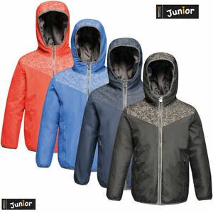 Regatta Reflector Boys Girls Kids School Winter Padded Waterproof Jacket RRP £50
