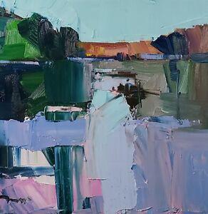 JOSE TRUJILLO Oil Painting IMPRESSIONISM ORIGINAL LANDSCAPE CONTEMPORARY MODERN