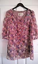 Topshop 1960's Vintage Retro Laura Lees Dress Floral/Candy/Skull Medium 10/12