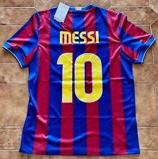 Leo Lionel Messi 10 Barcellona Fc Maglia Nike Calcio Liga 2009/10 2010 New Tg. M