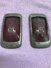 Vintage CHRYSLER PLYMOUTH TRUCK CAR Tail Light Covers Glass LETO