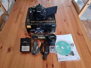 Nikon D D5300 24.2MP Digital SLR Camera-Black (Kit w/ AF-S DX VR II 18-55mm Lens